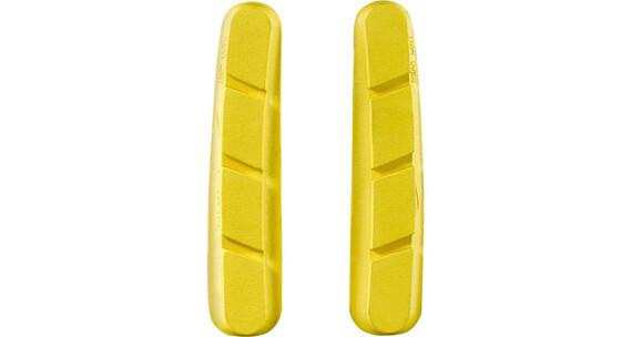 Mavic Carbon CXR Klocek hamulcowy Shimano/SRAM HG/S żółty